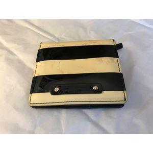 Kate Spade Small Stripe Patent Wallet